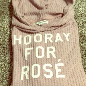 Thin Rosè long sleeve sweater